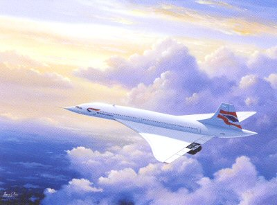 Hero of the Sky - Concorde by Barry Price.