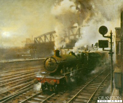 Departure from Paddington by Terence Cuneo
