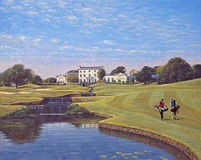 Druids Glen (18th Hole) by Peter Munro.