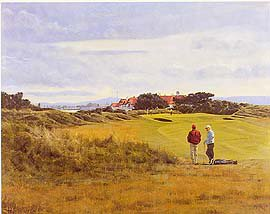 Portmarnock (18th) by Peter Munro