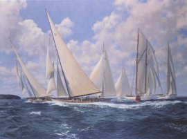Big Class, Astra Rounding The Mark by Steven Dews