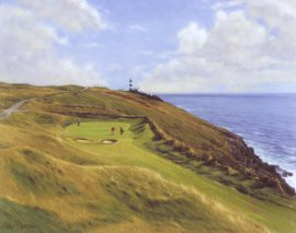 Old Head, Kinsale (16th Hole) by Peter Munro