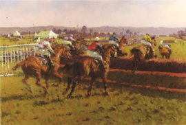 An Irish Point-to-Point by Peter Curling.