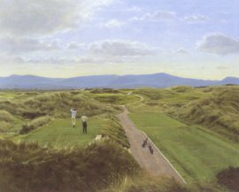 Waterville, County Kerry (12th Hole) by Peter Munro