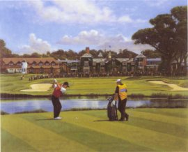 The Belfry (18th Hole) by Peter Munro
