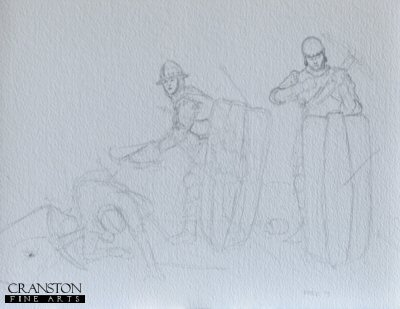 Crossbowmen - Bosworth 1485 by Mark Churms. (P)