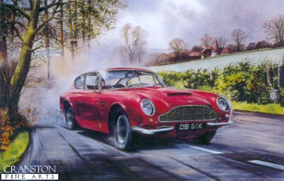 Aston Martin DB6 by Bob Murray