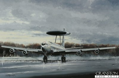 Boeing E-3A Sentry by Michael Rondot.
