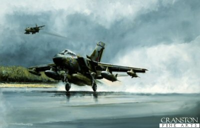 Panavia Tornado GR1 by Michael Rondot.