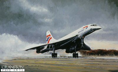 Concorde Farewell by Michael Rondot.