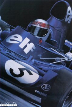 Jackie Stewart by Michael Thompson.