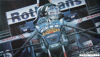 Damon Hill by Michael Thompson.