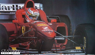 Eddie Irvine by Michael Thompson.