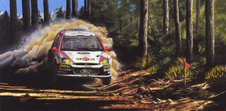 Colin McRae / Nicky Grist by Michael Thompson.