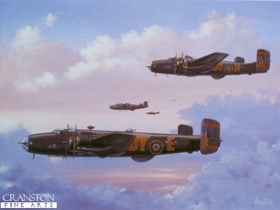 Halifax Bombers by Barry Price.