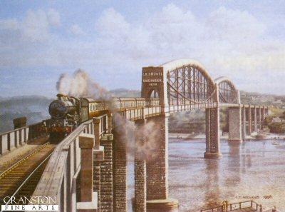 The Royal Albert Bridge - Saltash by Chris Holland