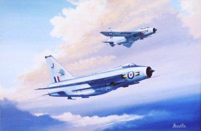 XR789 and XR724, 11 Squadron RAF.