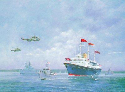 Britannia & Escort by Chris Woods.