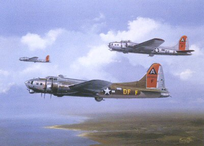 B17G Flying Fortress Little Miss Mischief by Barry Price.