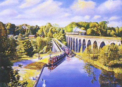 Aqueduct and Viaduct by Kevin Parrish.
