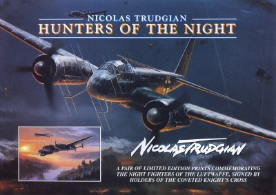 Night Hunters of the Reich by Nicolas Trudgian. (FLY)