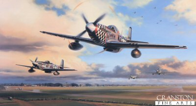 Duxford Eagles by Nicolas Trudgian
