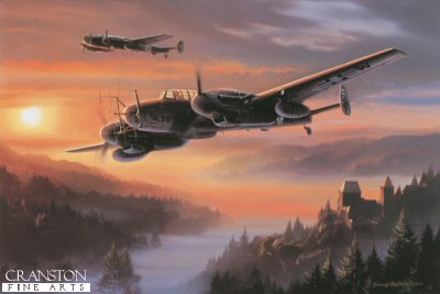 Night Hunters of the Reich by Nicolas Trudgian.