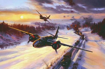 Raising Havoc in the Ardennes by Nicolas Trudgian.