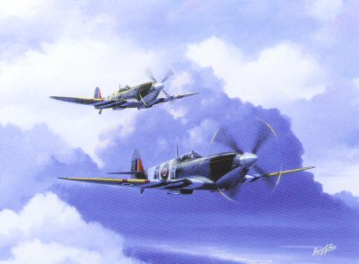 Spitfire Duo by Barry Price.