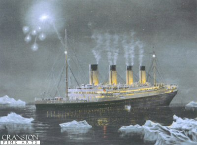The Sinking of RMS Titanic April 1912 by E. D. Walker.