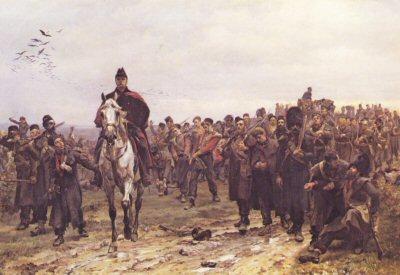 The Return from Inkerman by Lady Elizabeth Butler (PC)