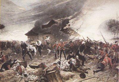 Defence of Rorkes Drift, 22nd January 1879 by Alphonse de Neuville (PC)
