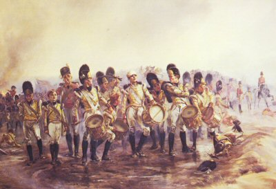 Stead the Drums and Fifes by Lady Elizabeth Butler. (PC)