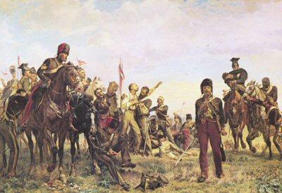 Balaclava (detail) by Lady Elizabeth Butler (PC)