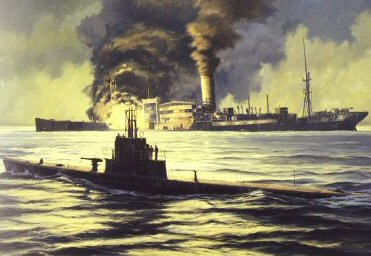 Night of the Hunter USS Wahoo by Anthony Saunders. (PC)