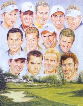 Ryder Cup Winners 2004 by Peter Deighan.
