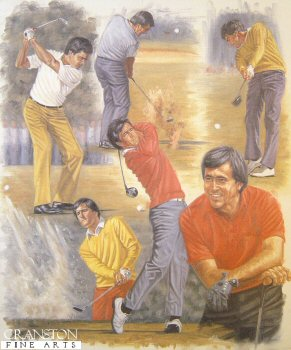 Seve Ballesteros by Peter Deighan.