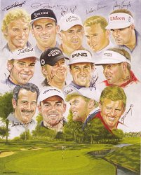 Ryder Cup Winners 2002 by Peter Deighan