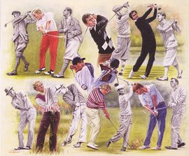 Golf Past and Present by Peter Deighan