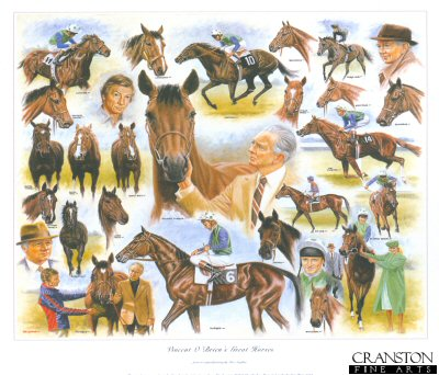 Vincent OBriens Great Horses by Peter Deighan.