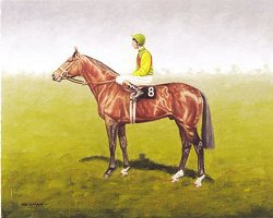 Nijinsky - Lester Piggott Up by Peter Deighan