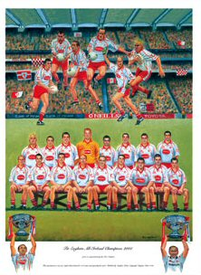 Tyrone All Ireland Champions 2005 by Peter Deighan.