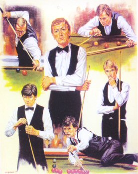 Kings of the Baize by Peter Deighan.