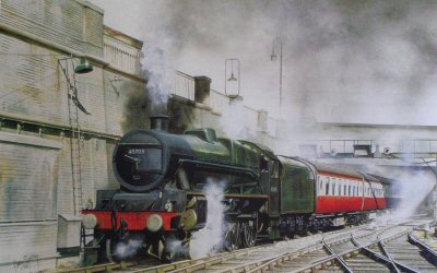 Jubilee Class - Thunderer by Robin Smith.