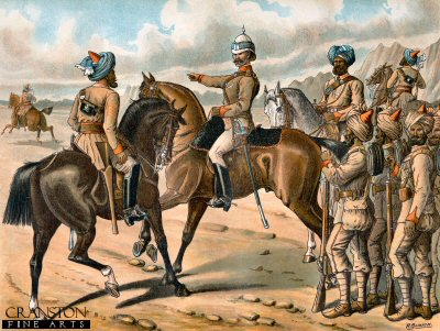 The Corps of Guides (Cavalry and Infantry) by Richard Simkin (P)