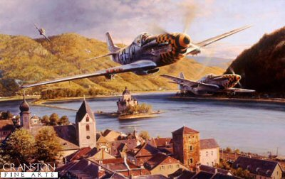 Eagles Over the Rhine by Robert Taylor.