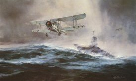 Launch Against the Bismarck by Robert Taylor.