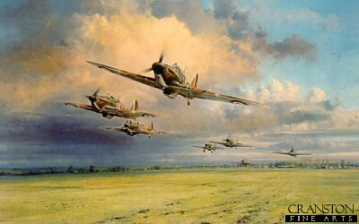 Hurricane Scramble by Robert Taylor.