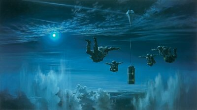 HALO Night Insertion by Stuart Brown