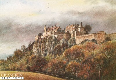 Stirling Castle by Malcolm Butts.